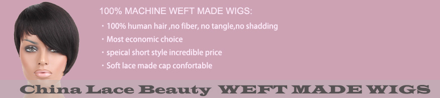 Weft Made Wigs