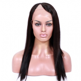 U part wigs silky straight