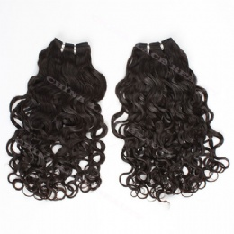 machine weft brazilian curl