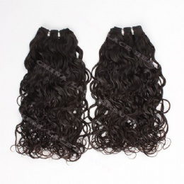 machine weft loose curl