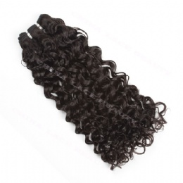machine weft 15mm curl
