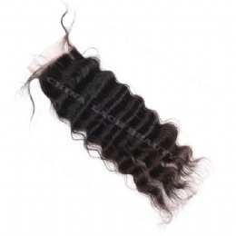 Top lace closure deep wave