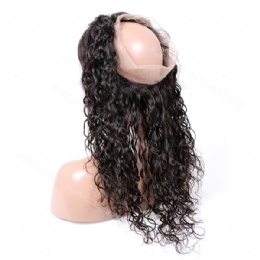 360° Lace frontal  loose curl