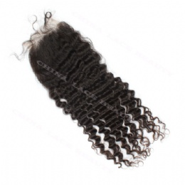 Silk Base Closure Deep Wave