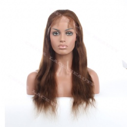Silk base top wigs 18inches natural straight